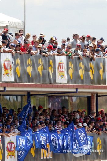 Fans at Eastern Creek