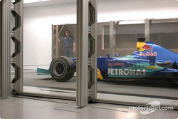 Sauber present wind tunnel