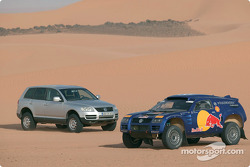 The Volkswagen Race-Touareg