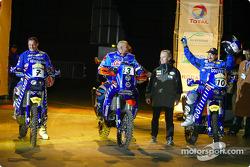 Giovanni Sala, Fabrizio Meoni and Alfie Cox
