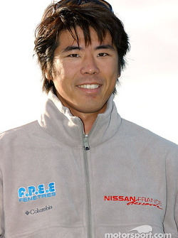 Nissan Dessoude team presentation: Jun Mitsuhashi