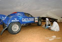 Gauloises Racing bivouac