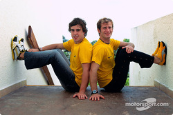 Renault F1 Team and Puma announcement: Fernando Alonso and Jarno Trulli