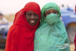 Young Mauritanian fans