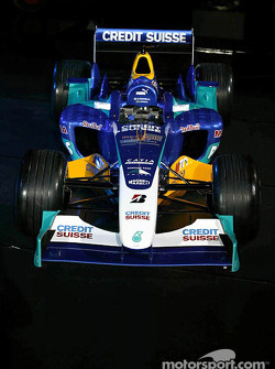 The new Sauber Petronas C23