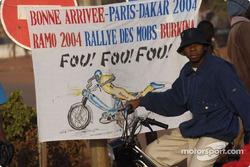 Local fan in Bobo Dioulasso