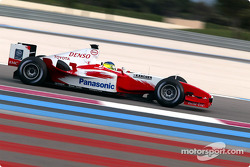 Cristiano da Matta gives Toyota TF104 its debut runs