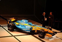 The new Renault R24 is presented