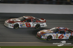 Dale Earnhardt Jr. and Mark Martin