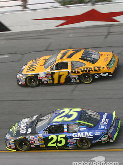 Brian Vickers and Matt Kenseth