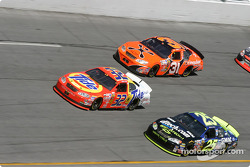 Ricky Craven, Brian Vickers and Robby Gordon