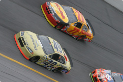 Ken Schrader and Brendan Gaughan