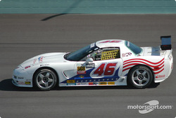 #46 Michael Baughman Racing Corvette: Gary St. Amour, Mike Yeakle