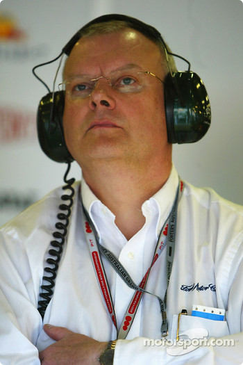 Head of Ford motorsport Richard Parry Jones