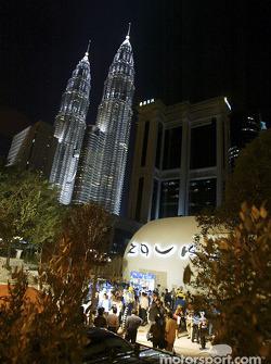 Mild Seven pit party at the Zouk Nightclub in Kuala Lumpur