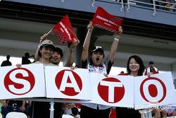 Takuma Sato fan club