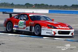 #25 Barron Connor Racing Ferrari 575 GTC: John Bosch, Danny Sullivan, Thomas Biagi