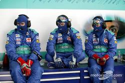 Sauber team members