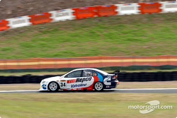 Garth Tander on his way to turn 2