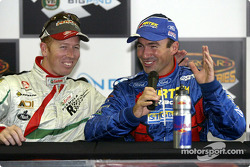 Press conference: pole winner Marcos Ambrose and Steven Richards