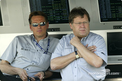 Norbert Haug at pitwall