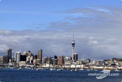 Auckland's skyline with the Sky Tower