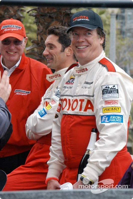 Al Speyer, Max Papis and Chris McDonald