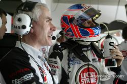 Geoff Willis and Jenson Button