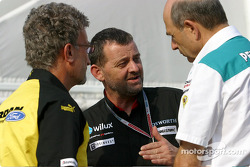 Eddie Jordan, Paul Stoddart and Peter Sauber