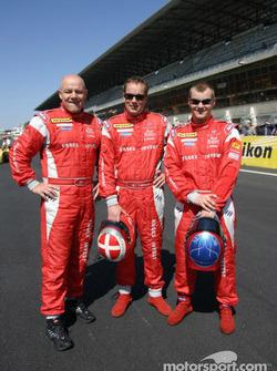 #62 Barron Connor Racing drivers: Mike Hezemans, Ange Barde, Jean-Denis Deletraz