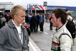 Heikki Kovalainen and Danny Watts