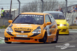 Matt Neal leads Robert Huff