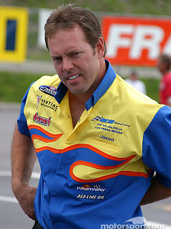 Jason Line qualified second only to his boss, Greg Anderson