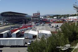 Circuit de Catalunya paddock