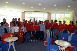Jean Todt meets Monaco charitable associations