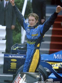 Race winner Jarno Trulli