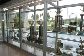 Visit of Hendrick Motorsports: more trophies inside the building of #24 and #48 teams