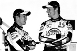 Takuma Sato and Jenson Button
