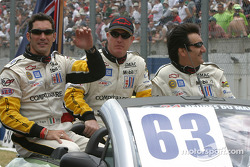 Drivers presentation: Max Papis, Johnny O'Connell, Ron Fellows