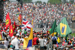 Fans at Indianapolis Motor Speedway