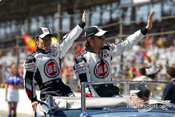 Drivers presentation: Takuma Sato and Jenson Button