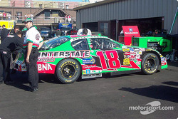 Bobby Labonte's car is ready