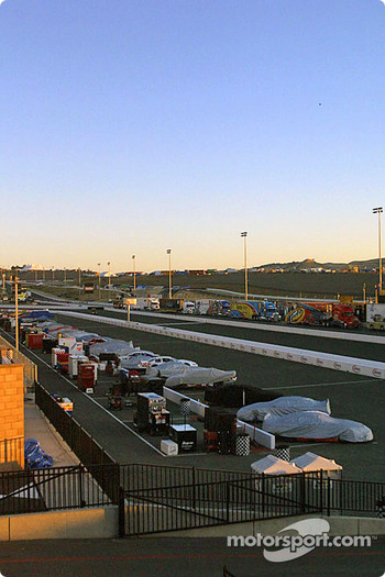 Sunrise at Infineon Raceway
