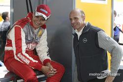 Timo Scheider and Volker Strycek