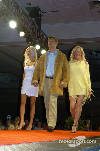 Robby McGehee, mother Janet and fiancee Norma Oteham