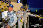 Podium: Johnny Herbert and Pierre Kaffer