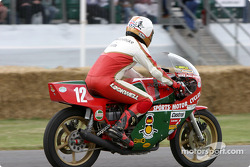 David Hailwood on 1978 Ducati