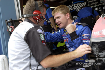 Jeff Burton and crew chief Bob Osborne