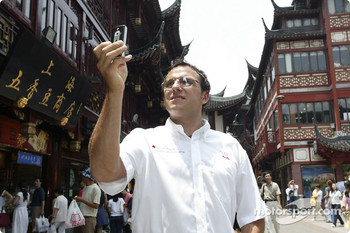 Christian Abt in Yu Garden