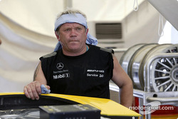 AMG-Mercedes team member at work